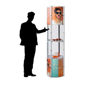 Stand vitrine pour vos salons professionnels et présentation produit