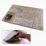Impression plan de ville